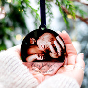 Personalised Newborn Baby Boy Photo Gift