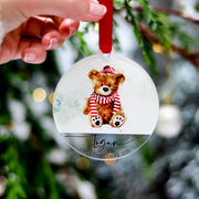 Teddy Bear Family Ornament 2020 Gift
