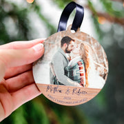 First Christmas Engaged Ornaments