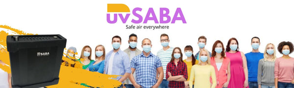 UvSABA (safe air breathing apparatus) and how it works.