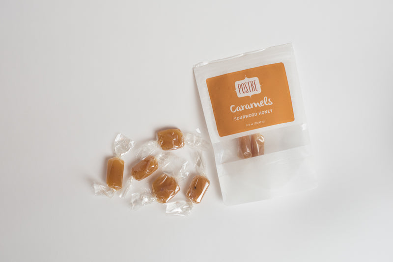 Sourwood Honey Caramel Chews