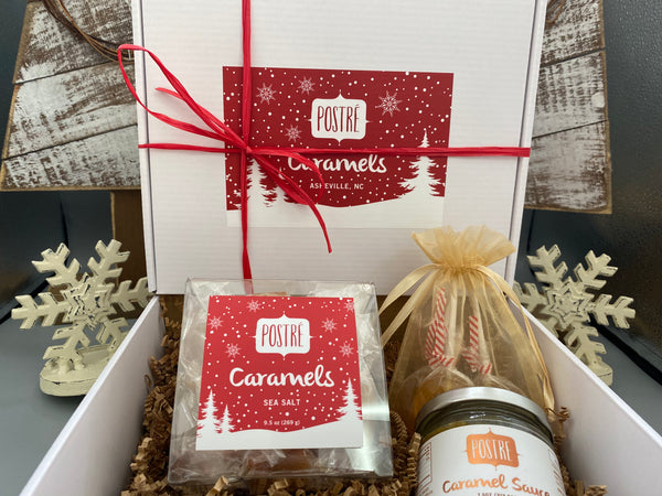 Sea Salt Caramel Winter Gift Set (Includes Handwritten Card)