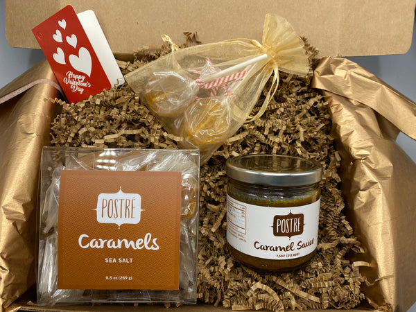 Valentine's Day Gift Set - Sea Salt Caramel Lovers
