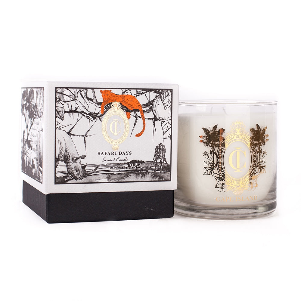 Safari Days Large Scented Candle 500ml