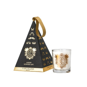 Black Gold Scented Candle Ornament Gift 100ml