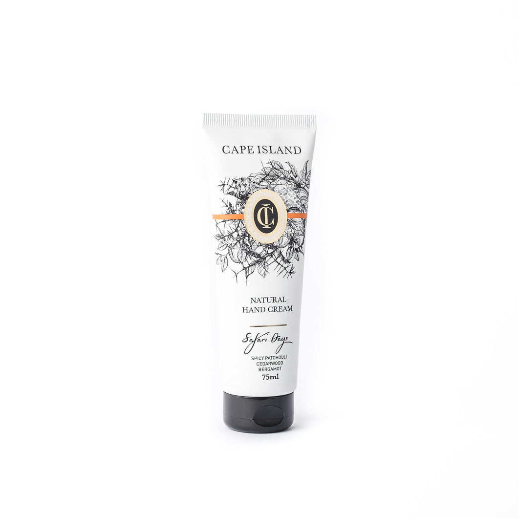 Safari Days Natural Hand Cream 75ml