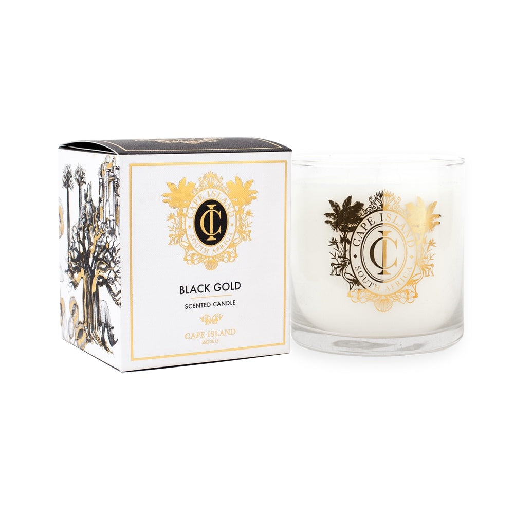 Black Gold Large Candle Large Scented Candle 500ml