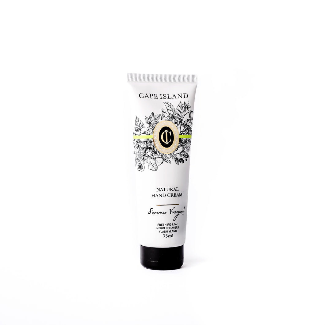 Summer Vineyard Natural Hand Cream 75ml