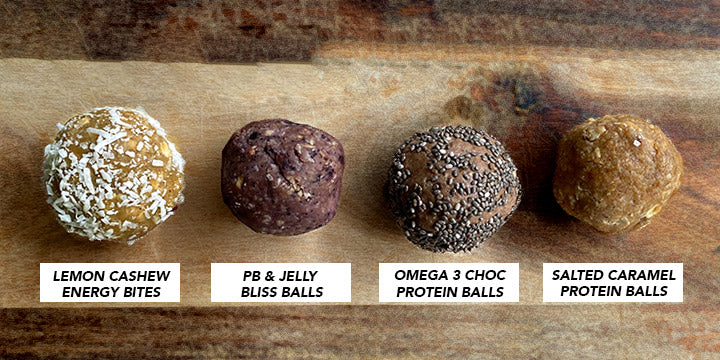 Easy Protein Ball Recipes - Never Not Hungry