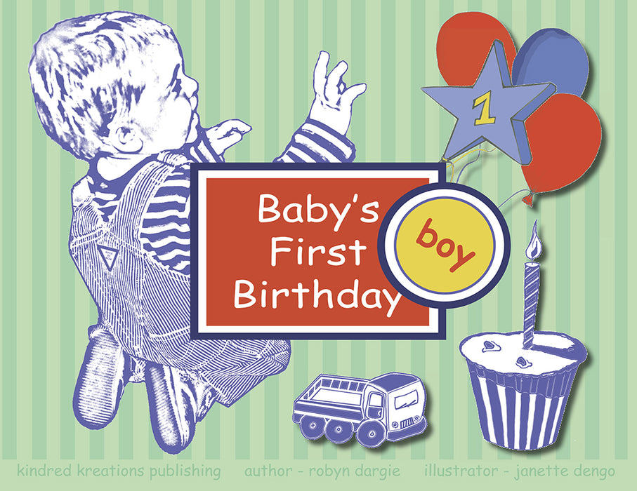 Baby's First Birthday - Boy