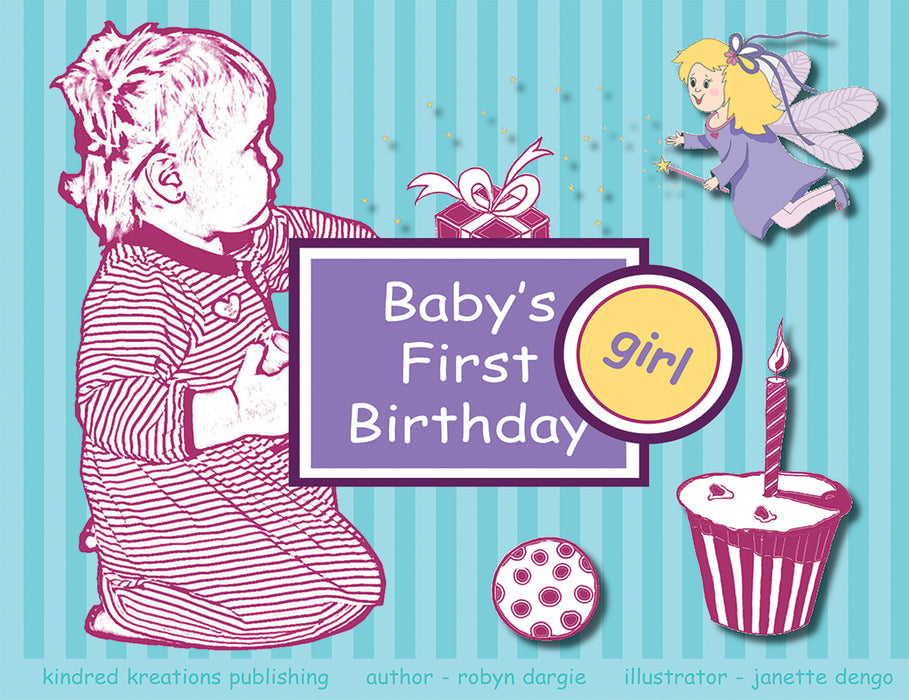 Baby's First Birthday - Girl
