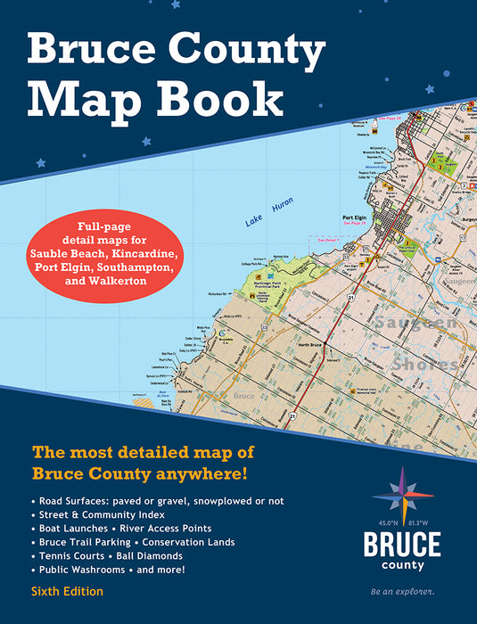 Bruce County Map Book: 6th Edition