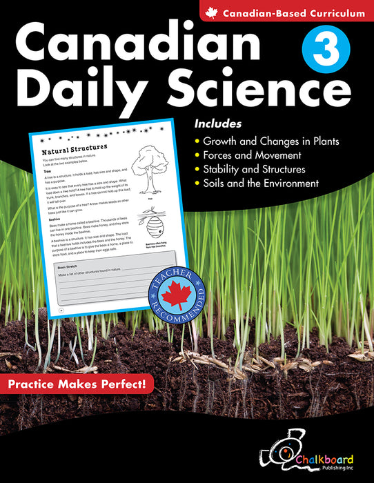 Canadian Daily Science: Grade 3