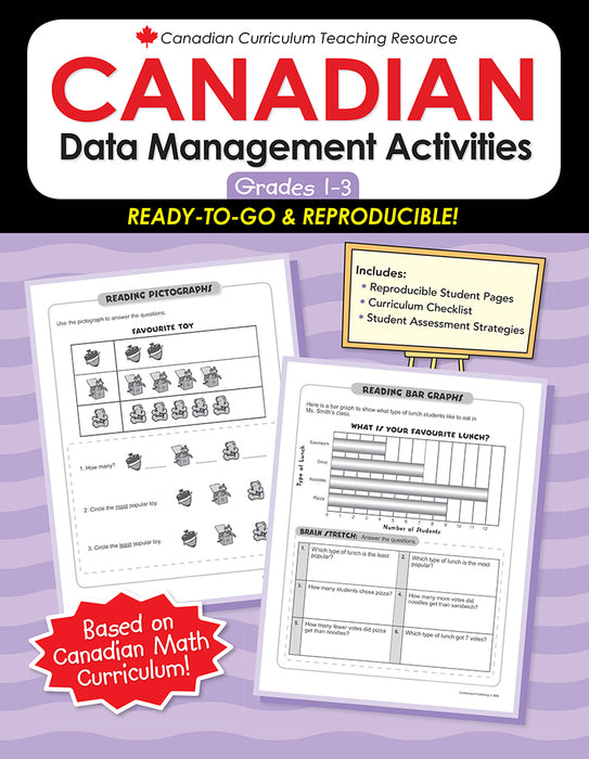 Canadian Data Management Grades 1-3