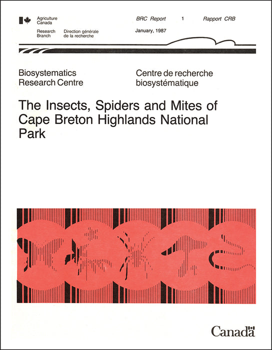 The Insects, Spiders and Mites of Cape Breton Highlands National Park