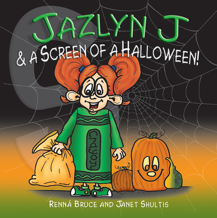 Jazlyn J & A Screen of a Halloween
