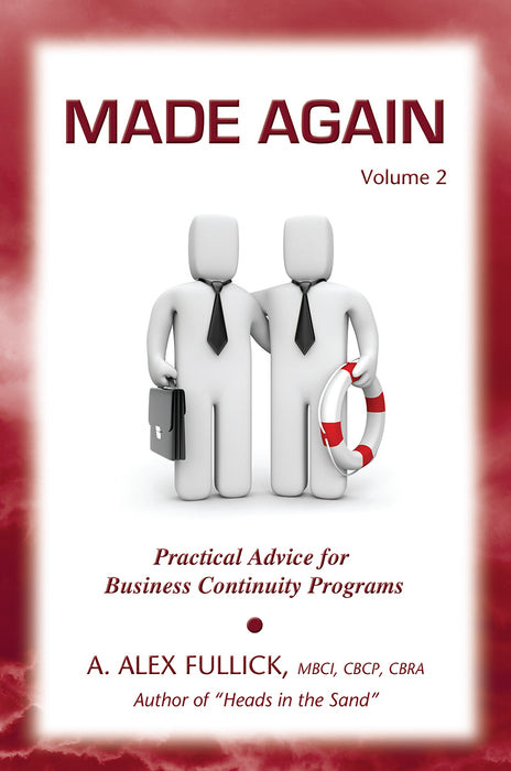 Made Again Volume 2 - Practical Advice for Business Continuity Programs