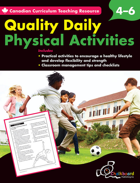 Canadian Curriculum Teaching Resource: Quality Daily Physical Activities 4-6