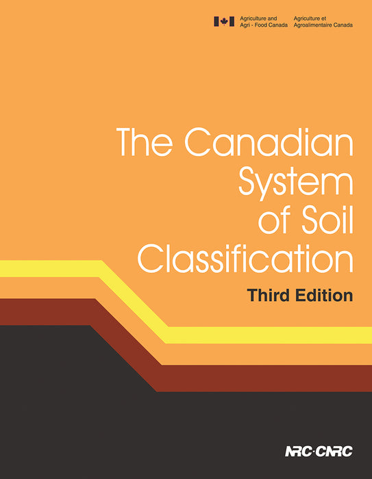 The Canadian System of Soil Classification