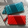 Ribbed Zip Wallet