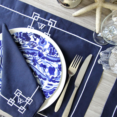 Anchor Linen Placemats