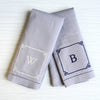 Chinoiserie Linen Hand Towels