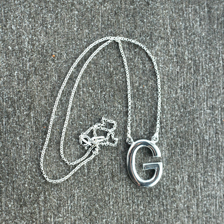 Letter Necklace (Boxed)