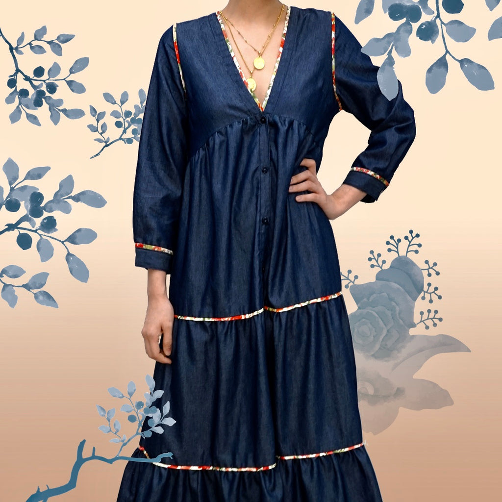 Breezy Day Dress Denim