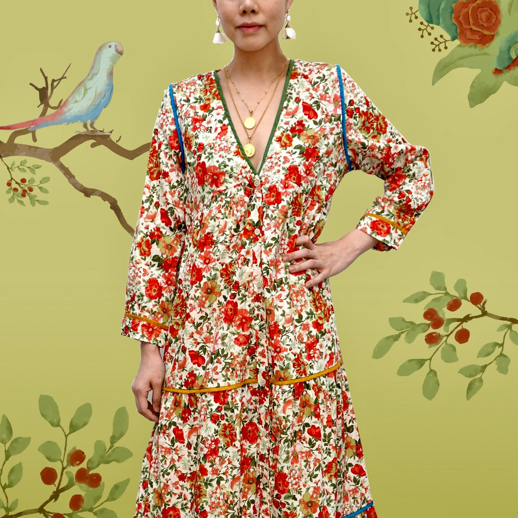 Breezy Day Dress Floral