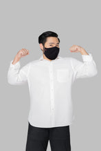 Load image into Gallery viewer, GQ Nano-Zinc Reusable Face Mask XXL