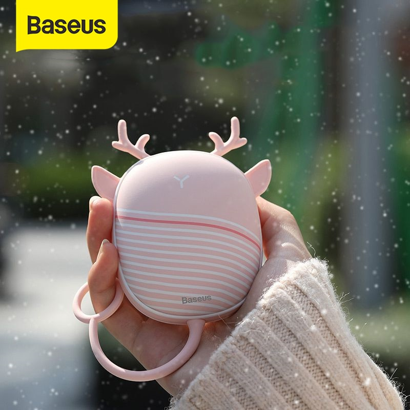 Baseus Handy USB Hand Warmers Mini Pocket Heater.