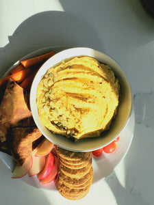 Pumpkin & Roasted Garlic Hummus