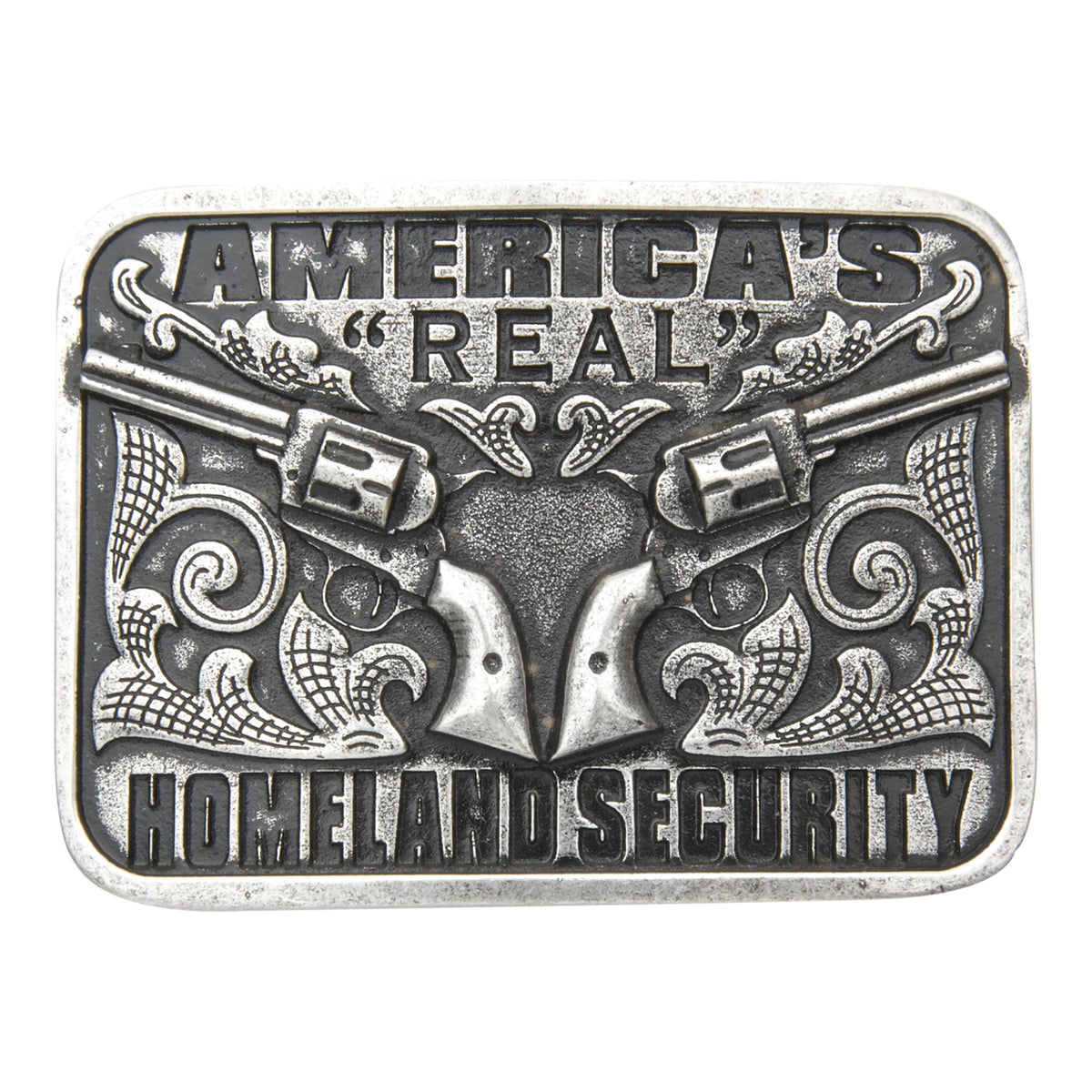 America's Real Homeland Security Buckle