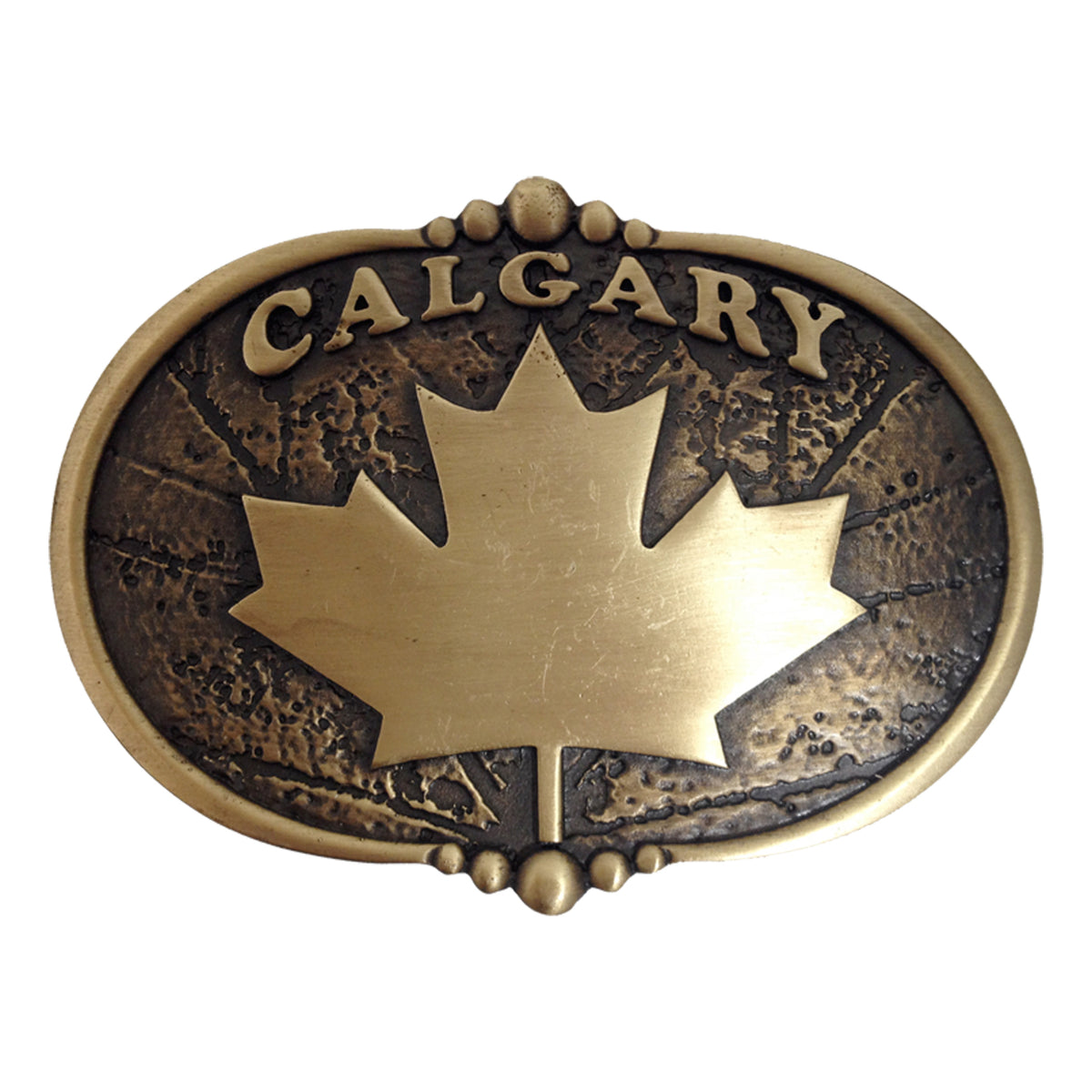 Calgary with Maple Leaf Buckle