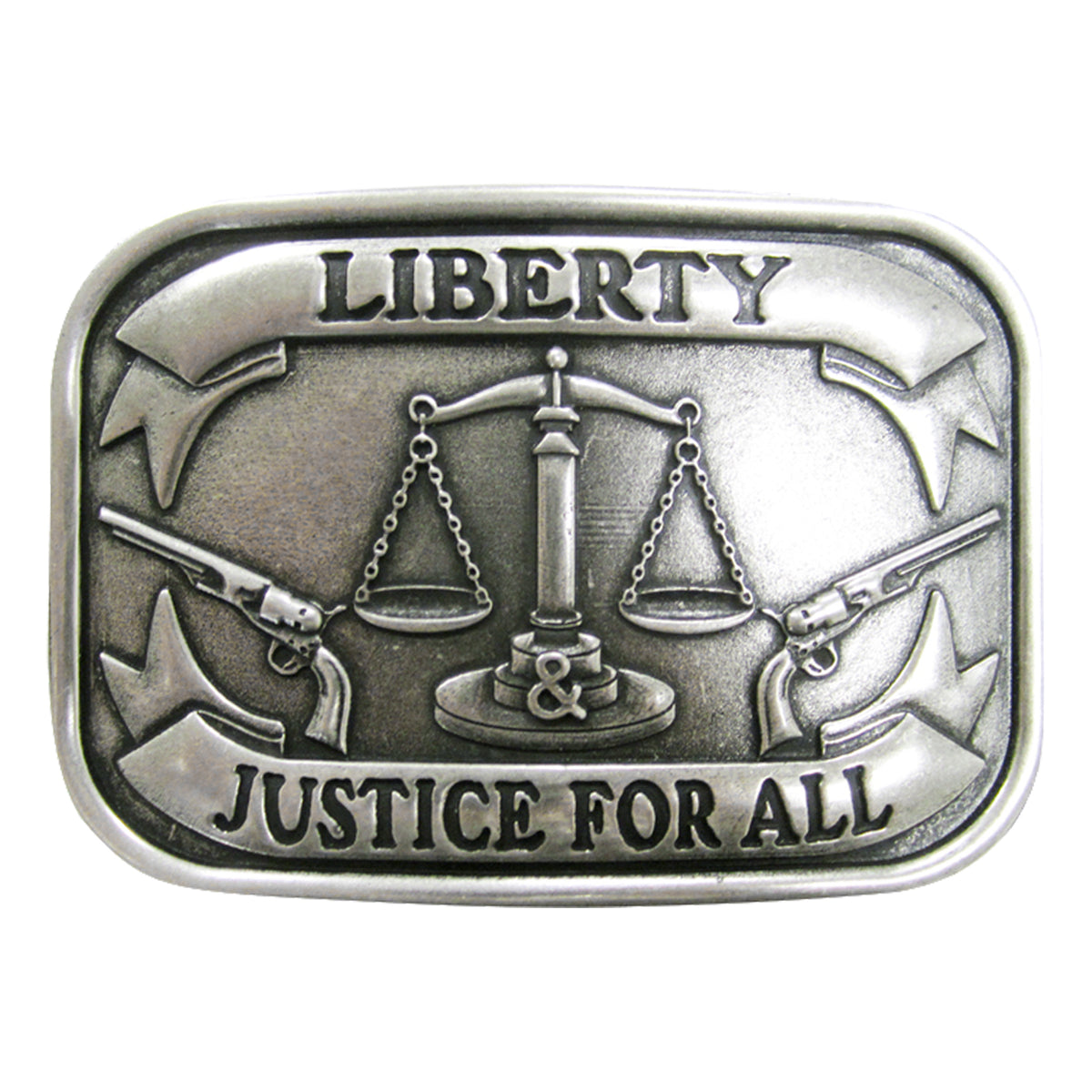 Liberty & Justice for All Buckle