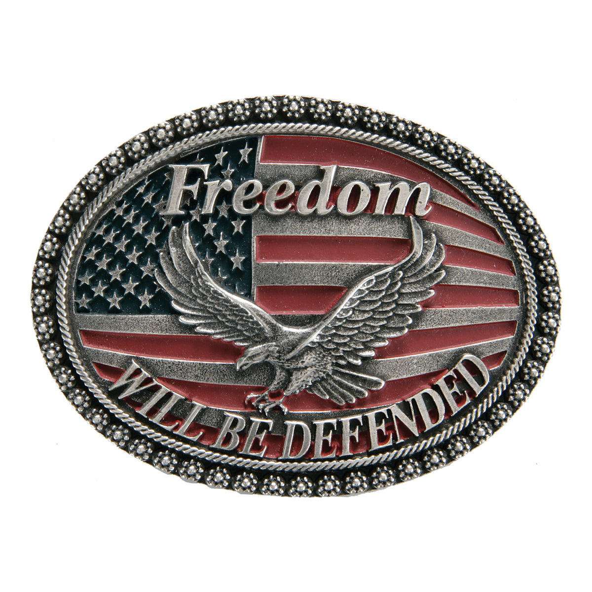 Freedom Will Be Defended Buckle