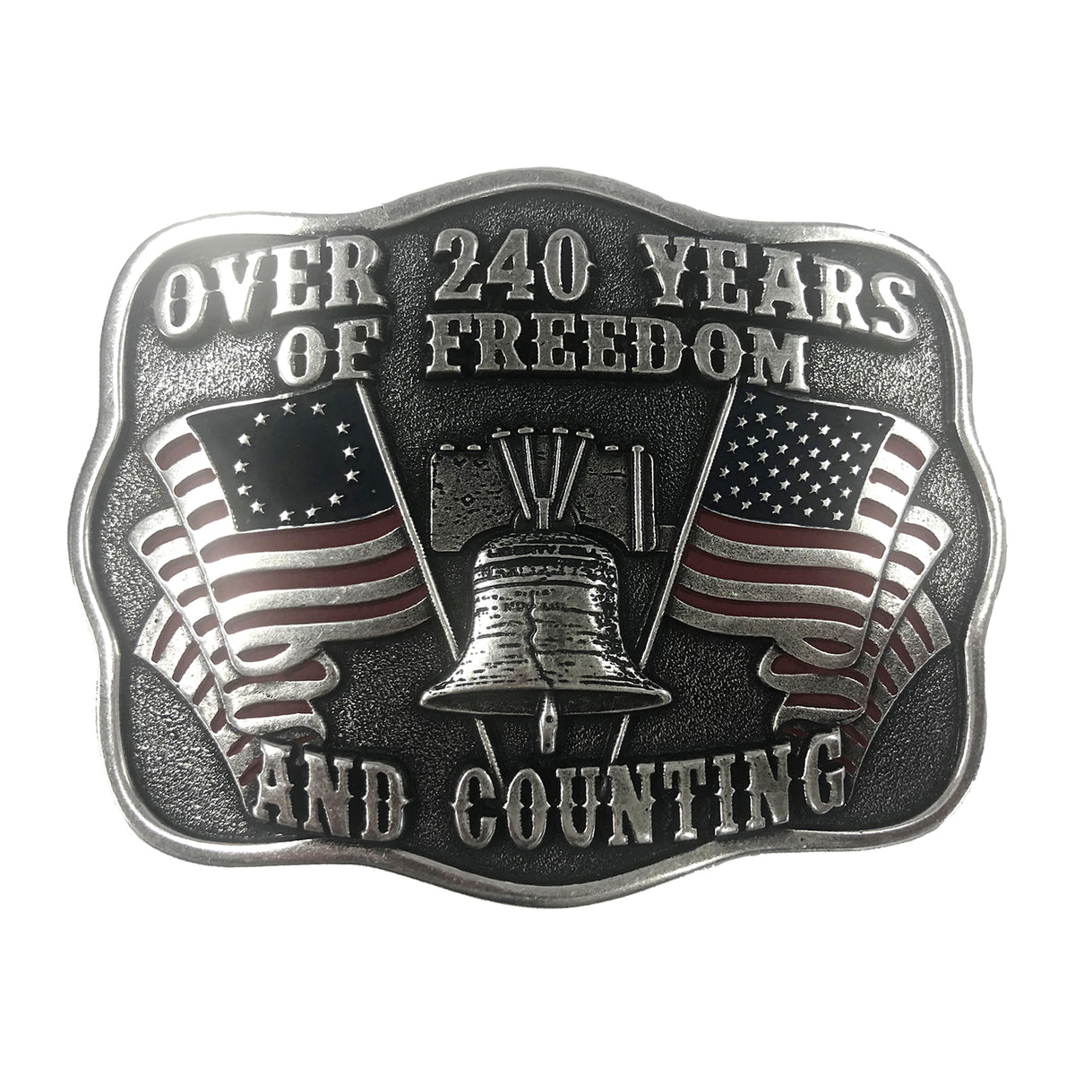 240 Years of Freedom Buckle