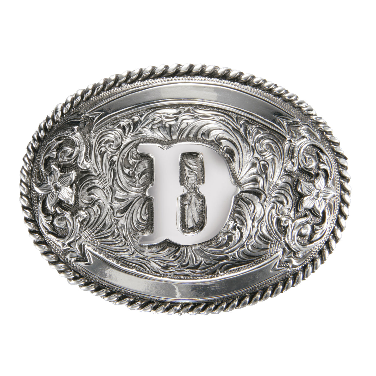 "Initial ""D"" Buckle"
