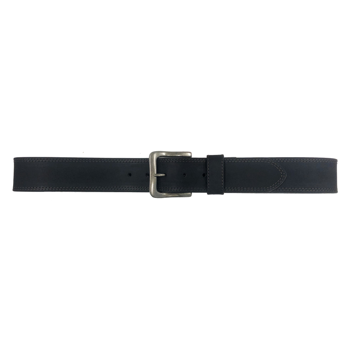 "1 5/8"" Wide Double Subtle Contrast Stitch Belt"