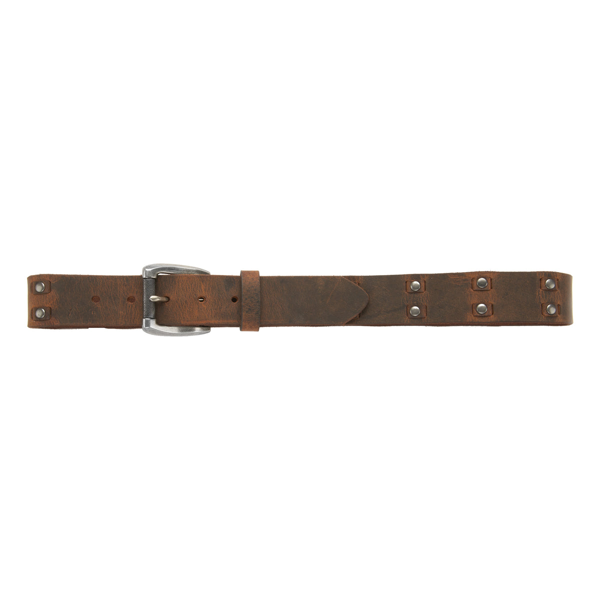 "1 1/2"" Woven and Studded Belt"