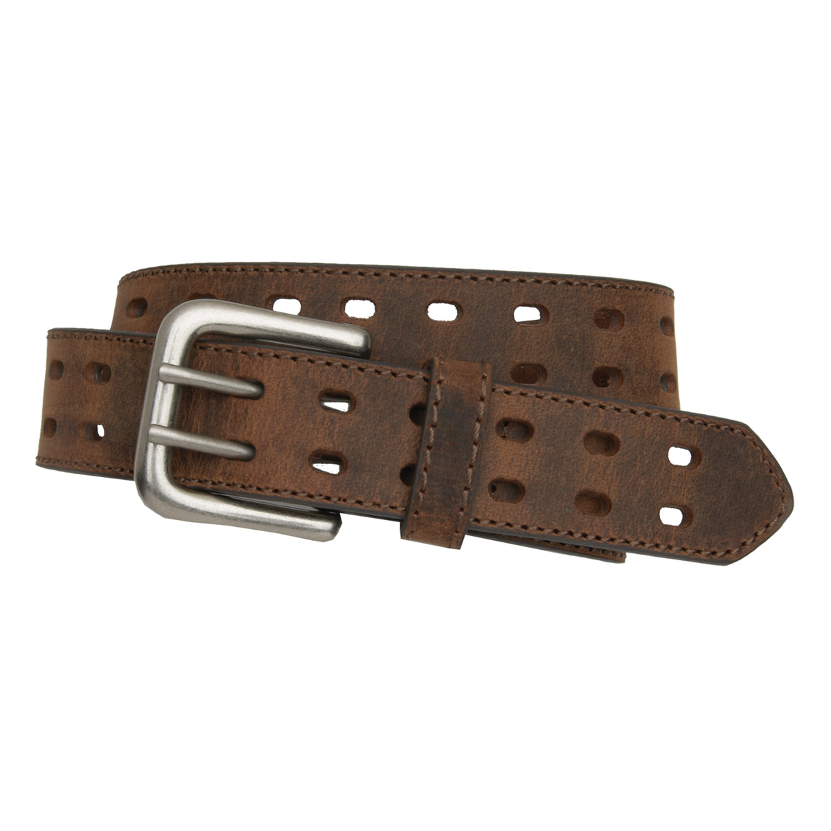 "Kids' 1 1/4"" Double Perforated Belt"