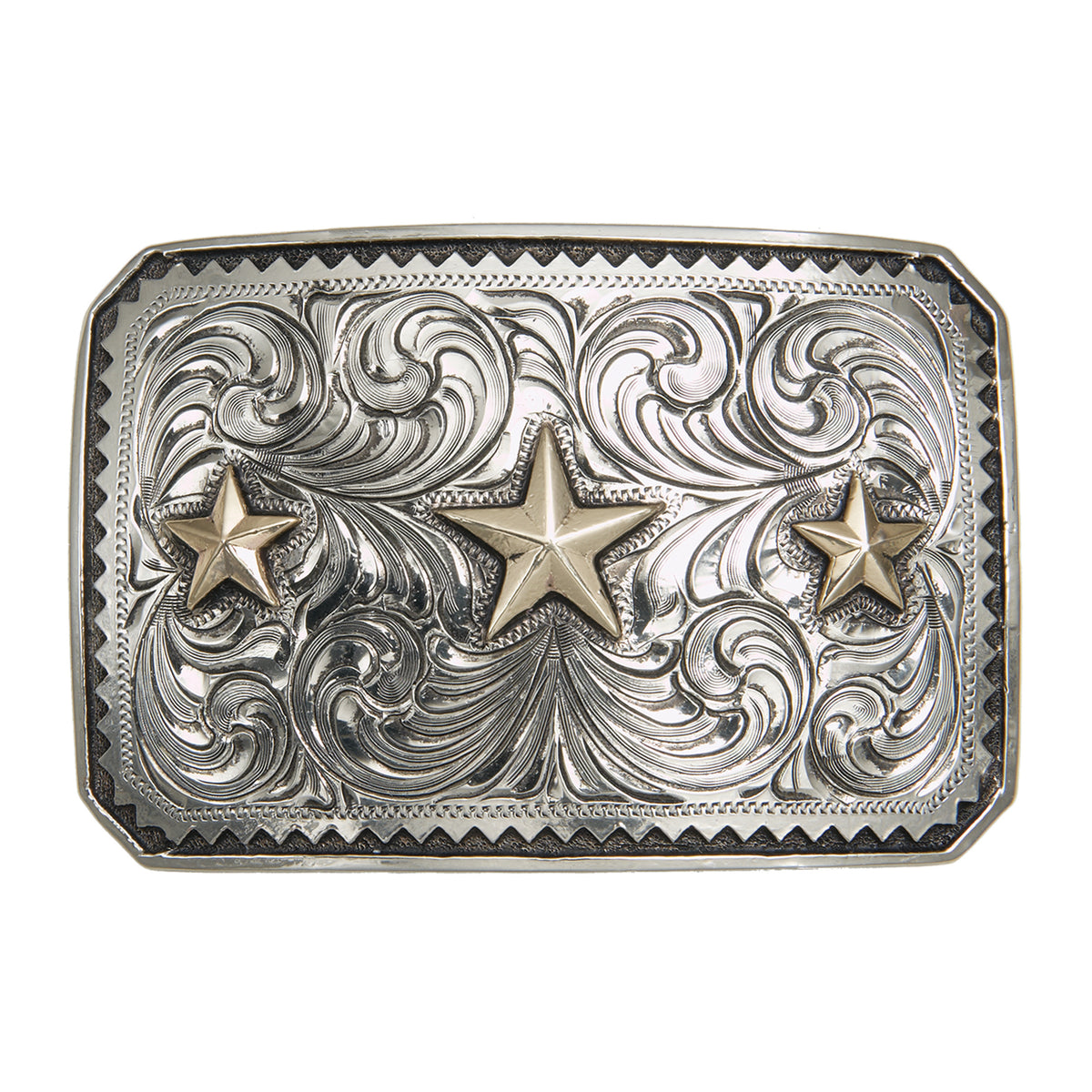 """Sinagua"" Triple Star Buckle"