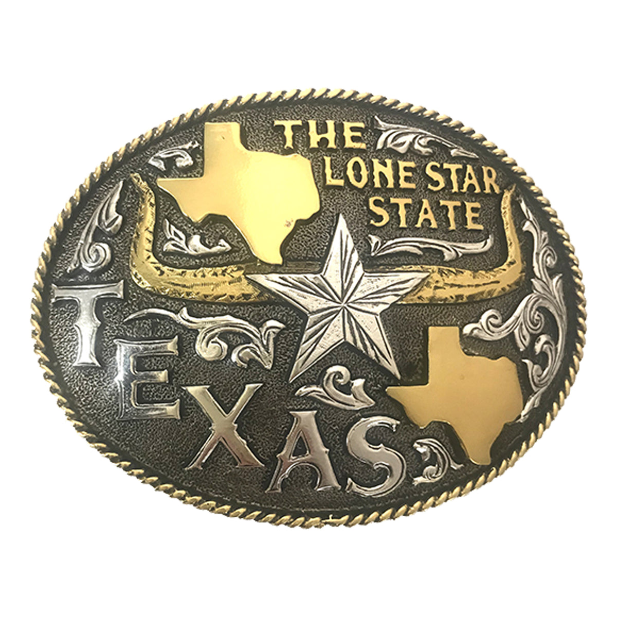 The Lone Star State Buckle