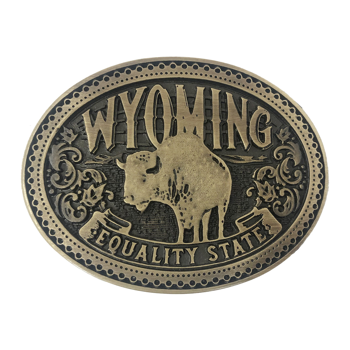 Wyoming Heritage Buckle