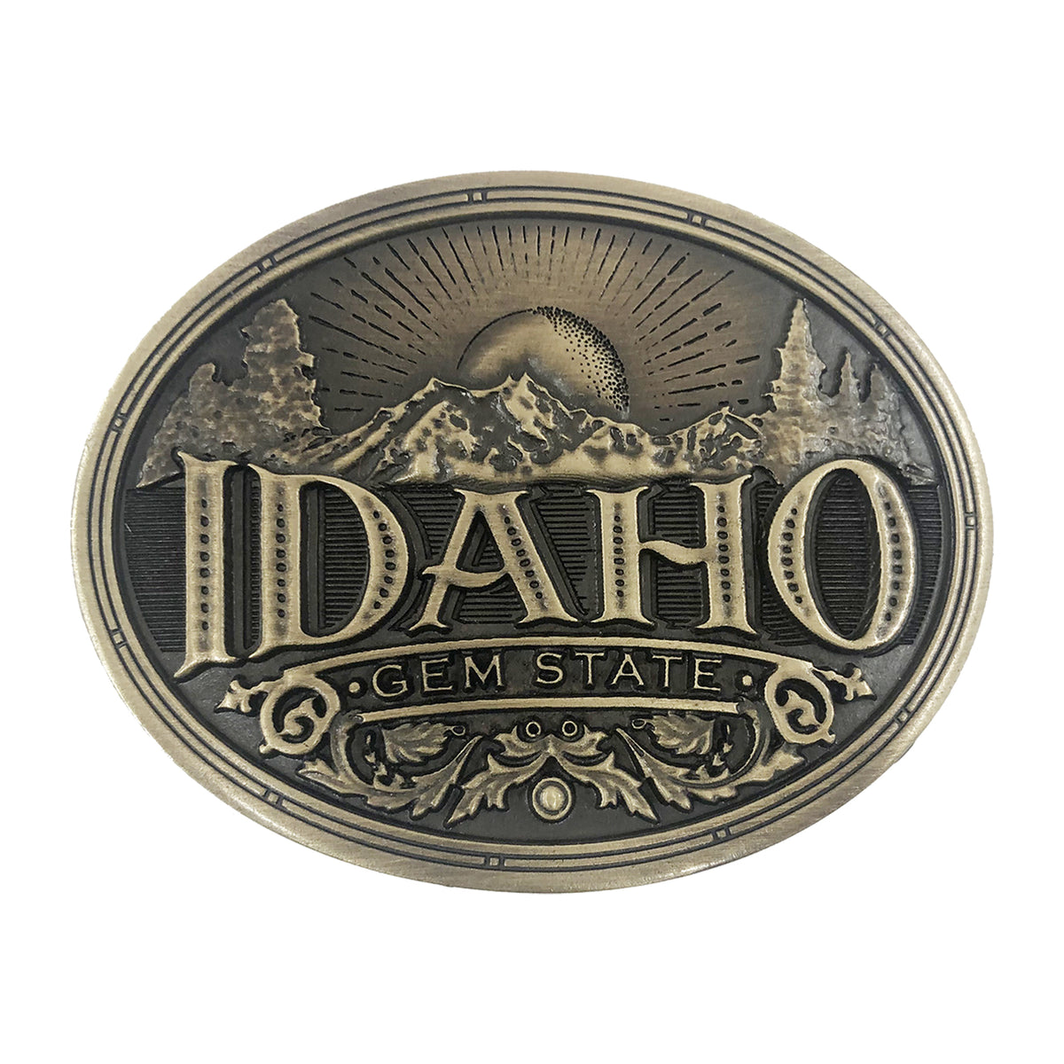 Idaho Heritage Buckle