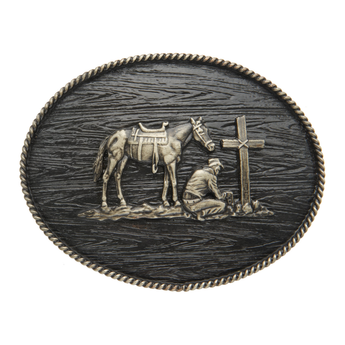Praying Cowboy Iconic Classic Buckle