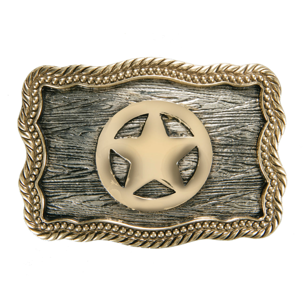 Texas Sheriffs Star Iconic Classic Buckle
