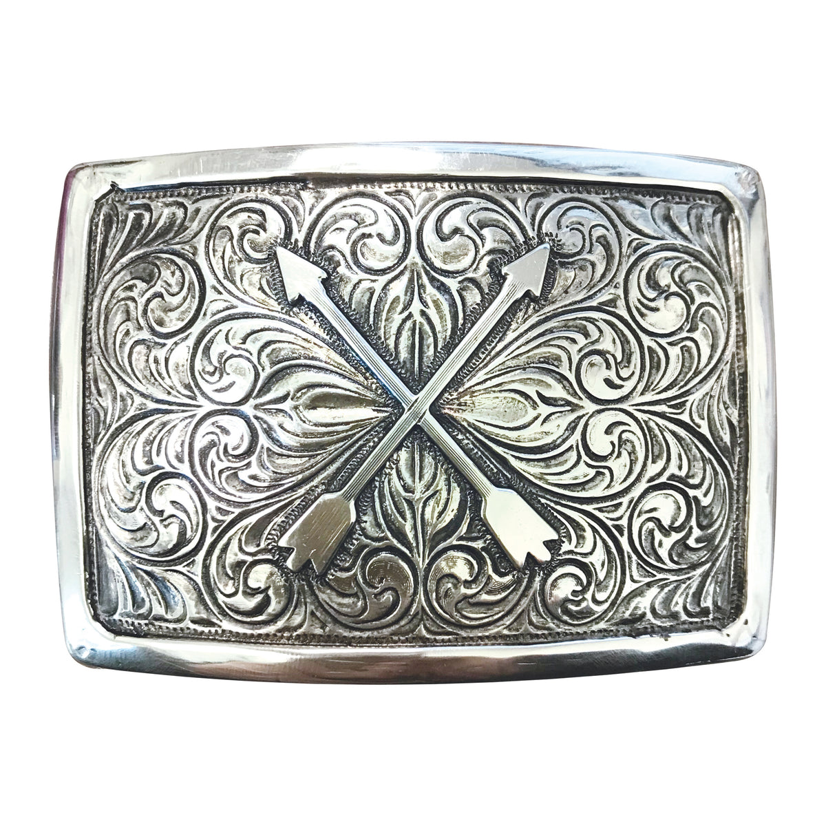 Crossed Arrows Iconic Classic Buckle