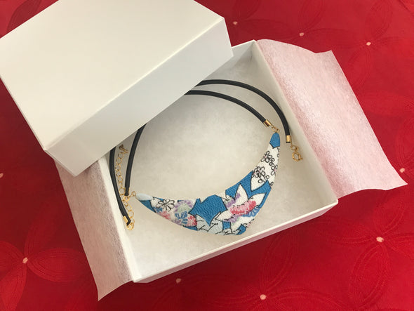 USA Crescent Moon Necklace