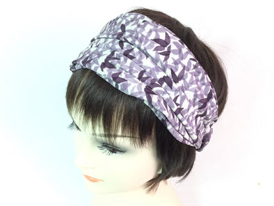 Turban headband Purple Story